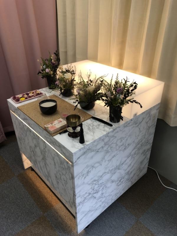 祭壇が新しくなりました。